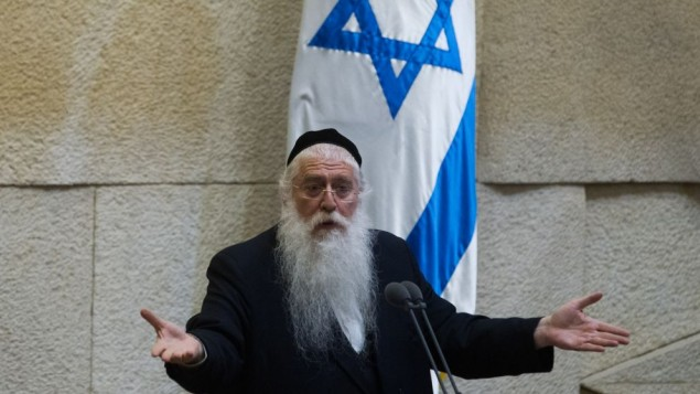 Porush: The Coalition Must Declare An End To Chilul Shabbos