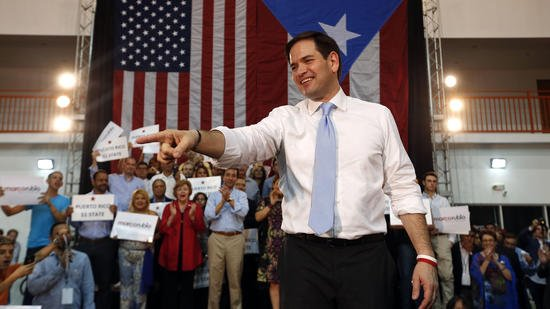 Rubio wins Puerto Rico primary; delegates to be determined