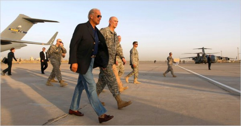 Biden Arrives In Iraq To Try To Help Settle Political Crisis