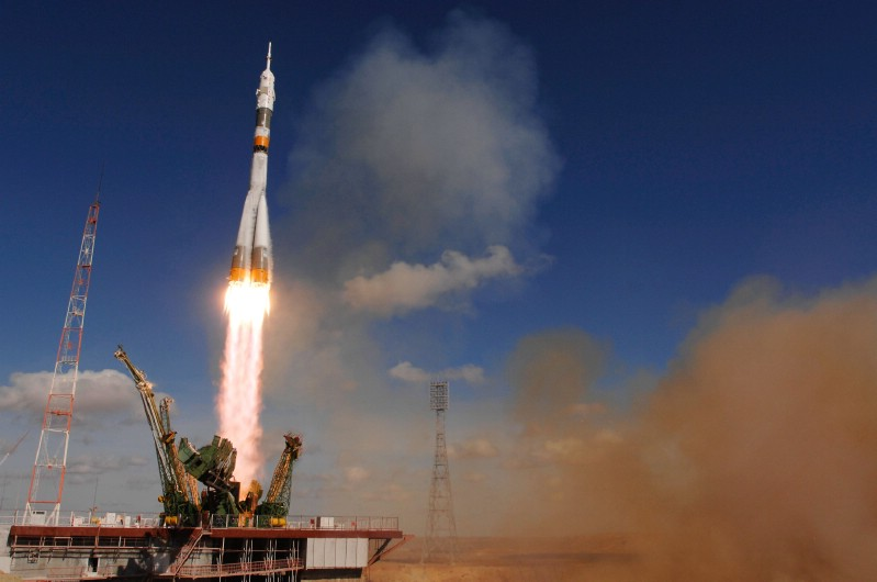 Russia Launches 1st Rocket From New Space Facility