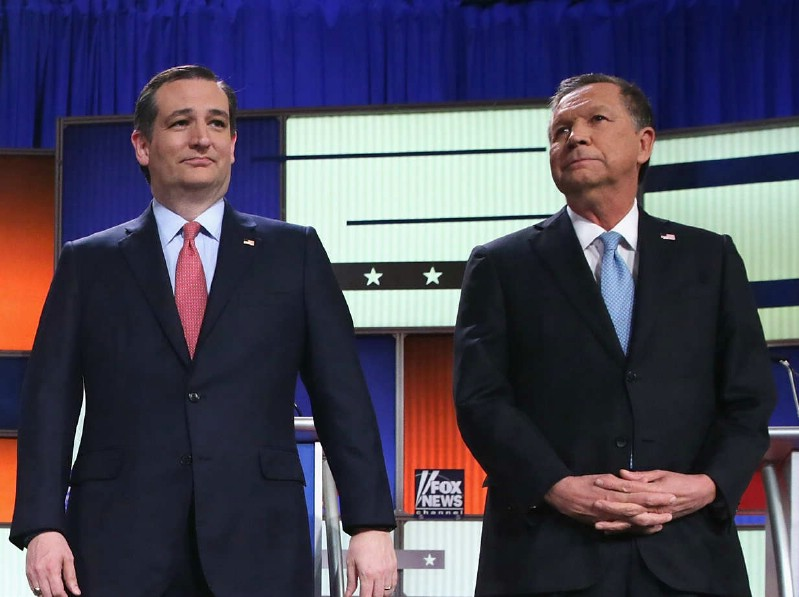 Republican Donors Deny Cruz, Kasich Needed Funds, Data Show