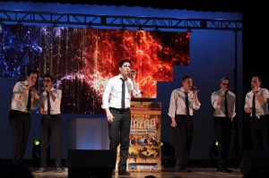The Maccabeats performing at the Big CHAZAQ Event IV