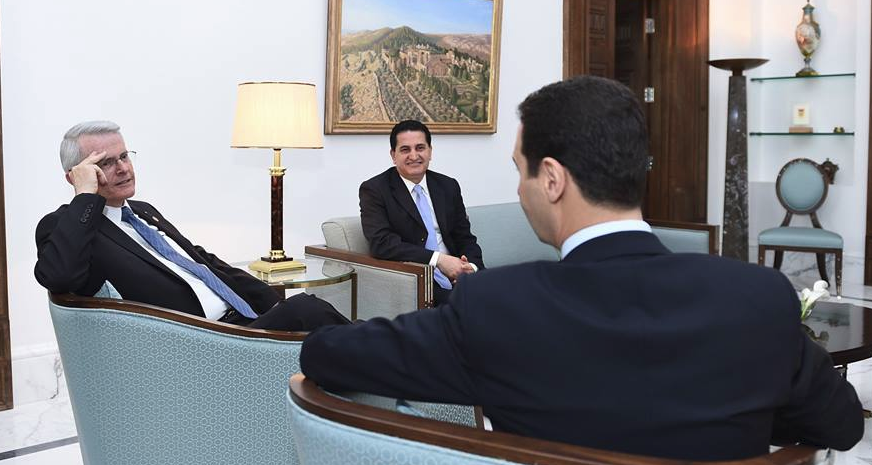 American State Senator Meets With Syrian President Assad