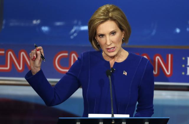 Fiorina: Trump Would Be 'Shellacked' By Clinton