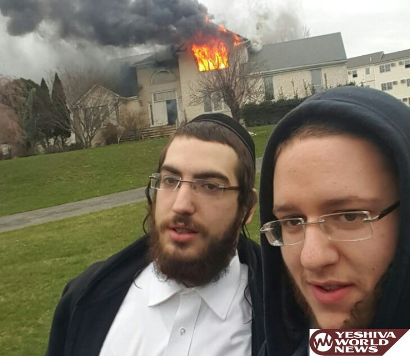 HEROES! Two Chasidic Men From New Square Help Rescue Non-Jewish Family From Home That Exploded [VIDEO AND PHOTOS]