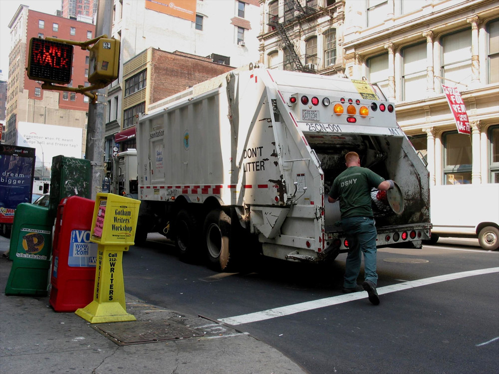 Greenfield Thanks Community Boards for Extra Pesach Garbage Pick-Ups And Chametz Burning