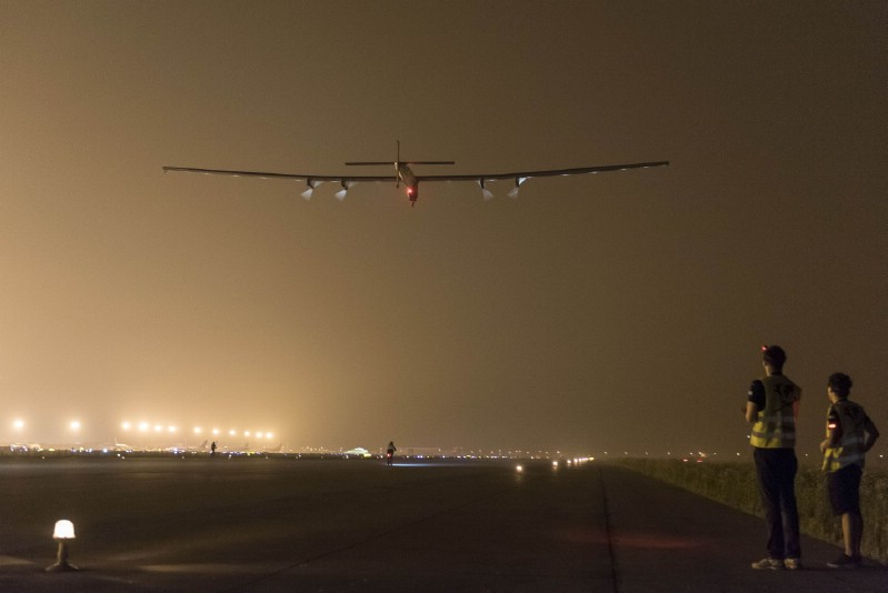 Solar-Powered Airplane Lands In Pennsylvania