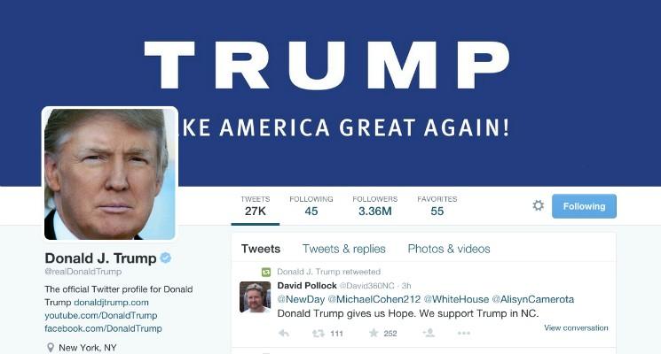 news article inside origins trumps high octane twitter account