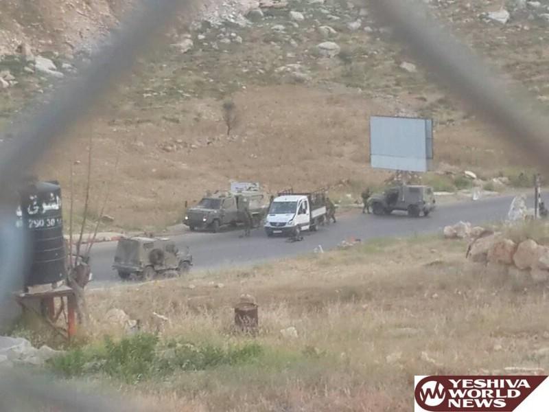 Three IDF Soldiers Struck in Vehicular Terror Attack Near Dolev [UPDATED 7:32PM IL]
