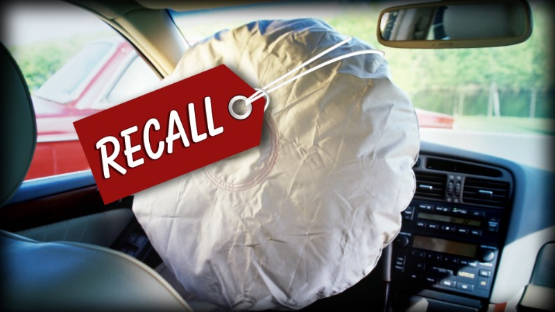 Air Bag Inflator Recall To Grow By 35 Million To 40 Million