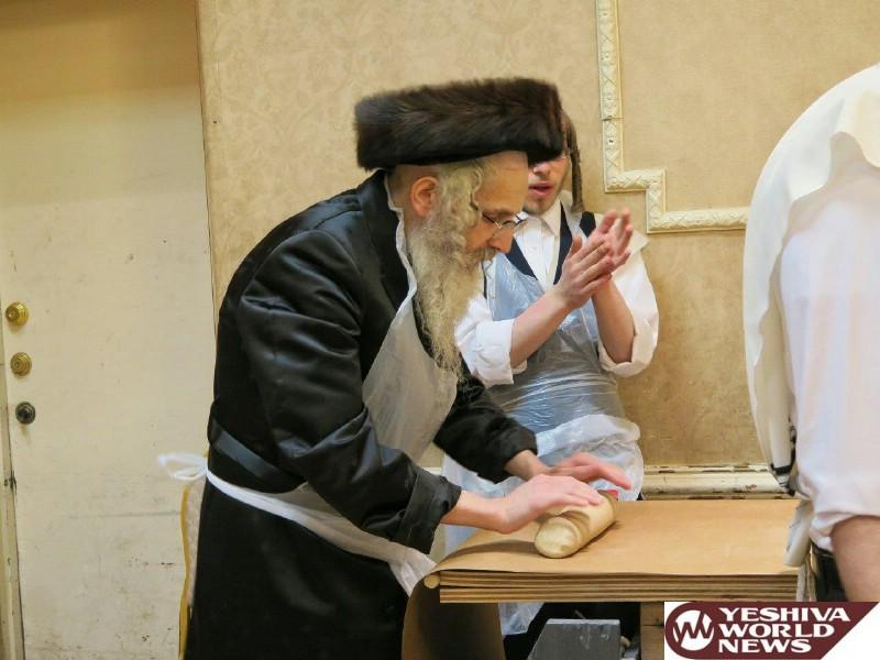Photo Gallery: Yidden In Williamsburg Baking Matzos On Erev Pesach 5776 (Photos by JDN)