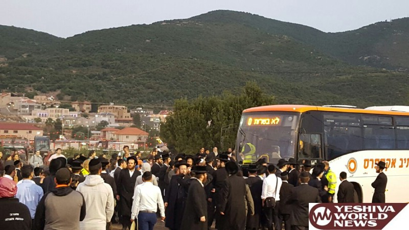 VIDEO: People Waited For Hours To Travel To Meron But There Were No Buses