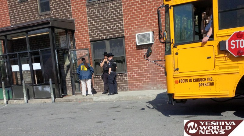 BREAKING PHOTOS: Dozens Of FBI Agents Are Currently In Kiryas Joel At UTA And Public Safety Building [UPDATED 11:00AM ET]