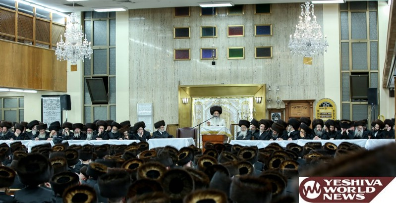 Photo Essay: Pesach 5776 By The Satmar Rebbe Of WIlliamsburg (Photos by JDN)