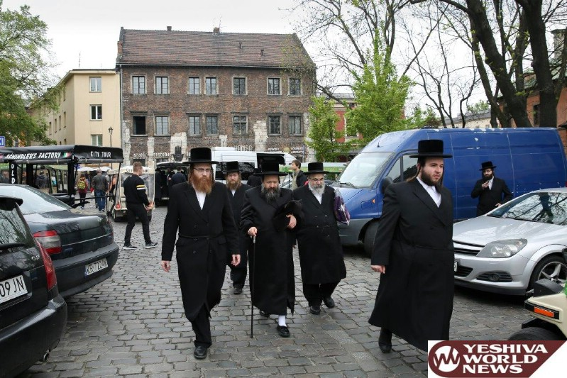 Photo Essay: Bobov-45 Rebbe In Sanz, Poland On The Yartzheit Of The Sanzer Rov Zatzal (Photos by JDN)