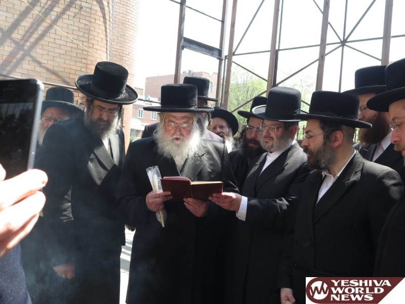 Photo Gallery: Pesach 5776 By The Munkatcher Rebbe (Photos by JDN)