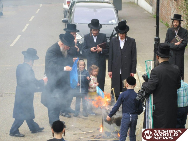 Photo Gallery: Yidden In Stamford Hill, London By Sreifas Chametz (Photos By JDN)