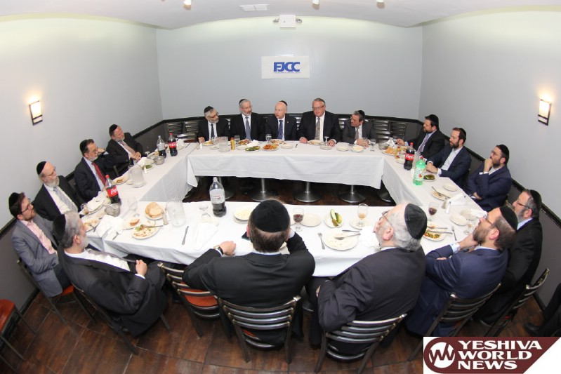 PHOTOS: Trump Advisor Meets FJCC Leadership In Flatbush