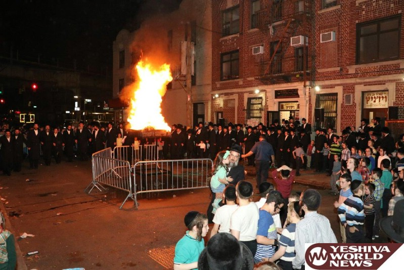 Photo Essay: Lag Baomer 5776-2016 With Admorim from Around The World [Gallery 1]
