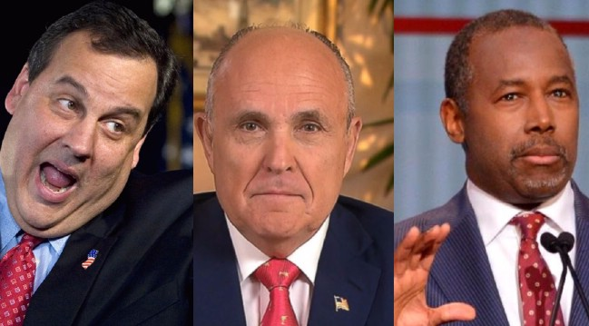 Giuliani, Carson, Christie, in Trump Cabinet?