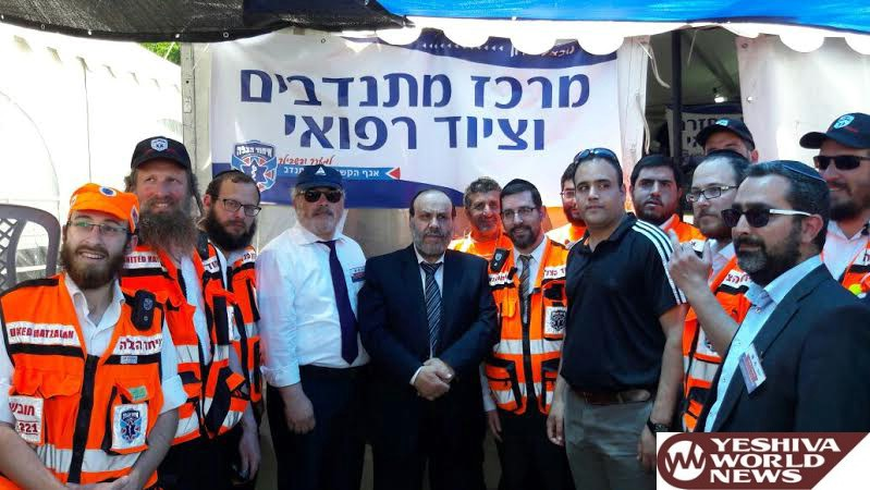 PHOTOS: Religious Services Minister Azoulai Visited Meron On Lag Baomer