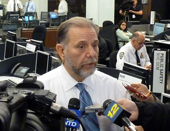NYC OEM Commissioner Joseph Esposito Warns Of Potential For Coastal Flooding