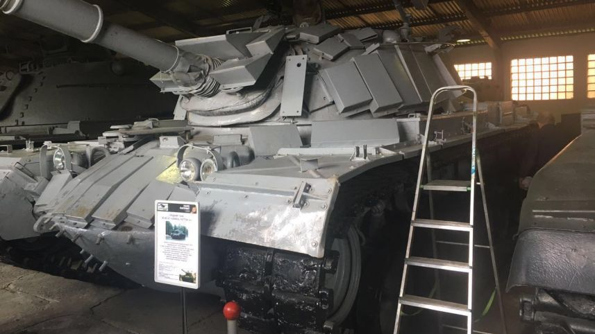 Russia to Return Israeli Tank Captured by Syria in the First Lebanon War