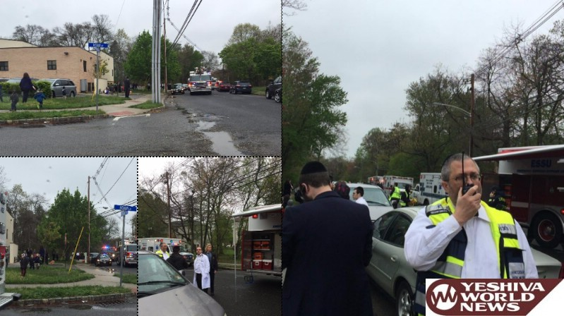 Mass Causality Incident In Lakewood, After High CO Readings Found In Yeshiva Building; Dozens Of Children Being Evaluated