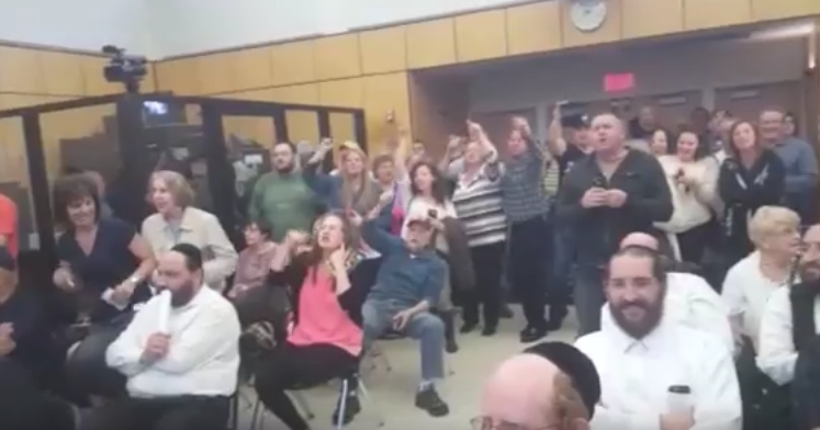 VIDEO: Ramapo Residents Stage Protest At Town Board Meeting
