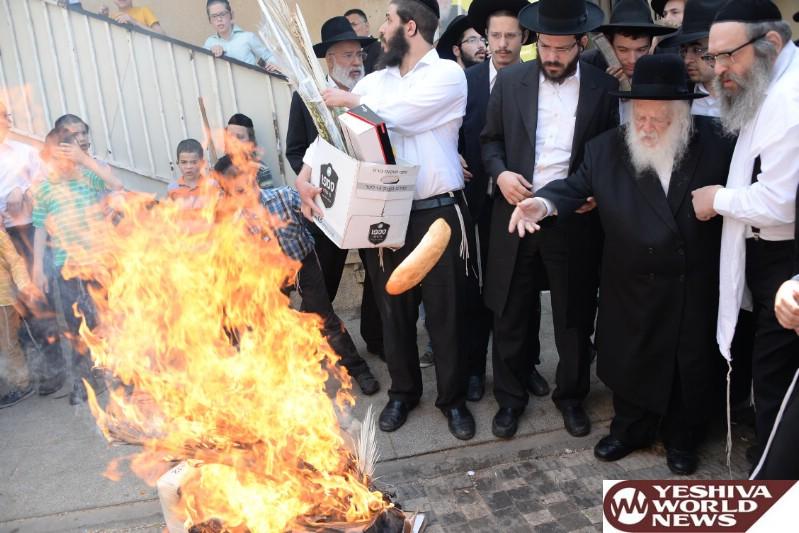 Photo Gallery: Pesach 5776 By Hagaon HaRav Chaim Kanievsky (Photos by JDN)