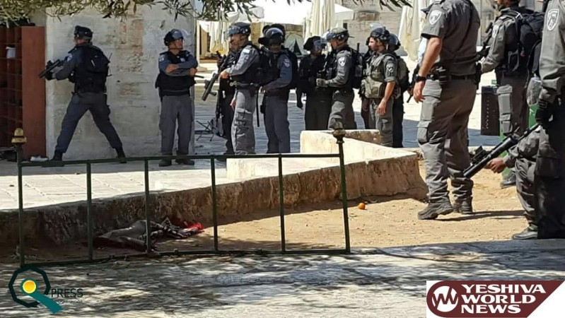 VIDEO AND PHOTOS: Muslims Cause Disturbances on Har Habayis Sunday Morning