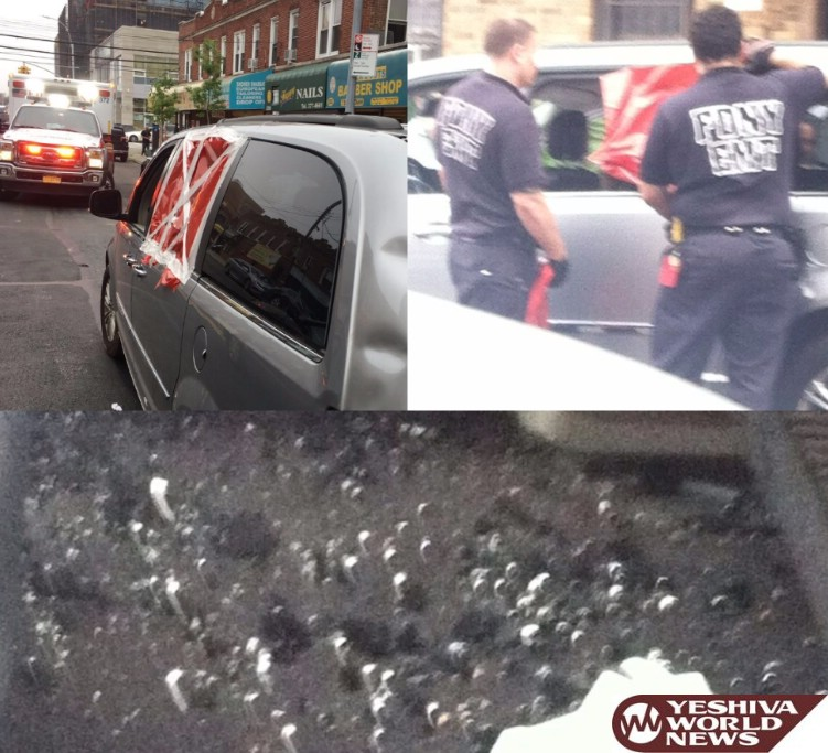 Possible Hate Crime In Flatbush - Black Teens Throw Rocks At Window Of Orthodox Jewish Vehicle On Nostrand Ave
