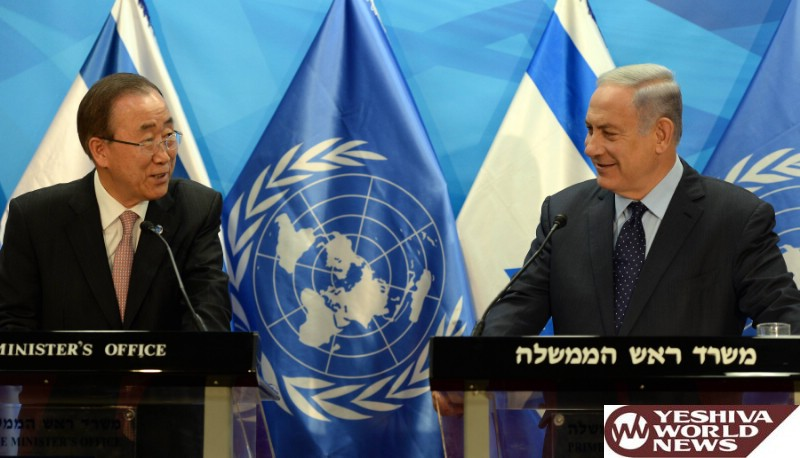 VIDEO: PM Netanyahu To UN Secretary - Gen. Ban Ki-moon: Help Return Home Our Soldiers And Citizens