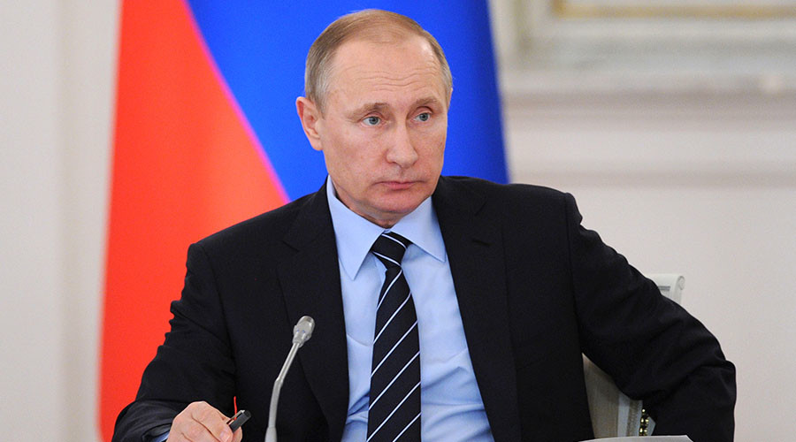 Putin Says Russia Won't Enter Arms Race With NATO