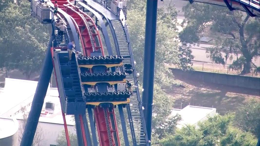 Busch Gardens Riders Removed After Stuck On Roller Coaster