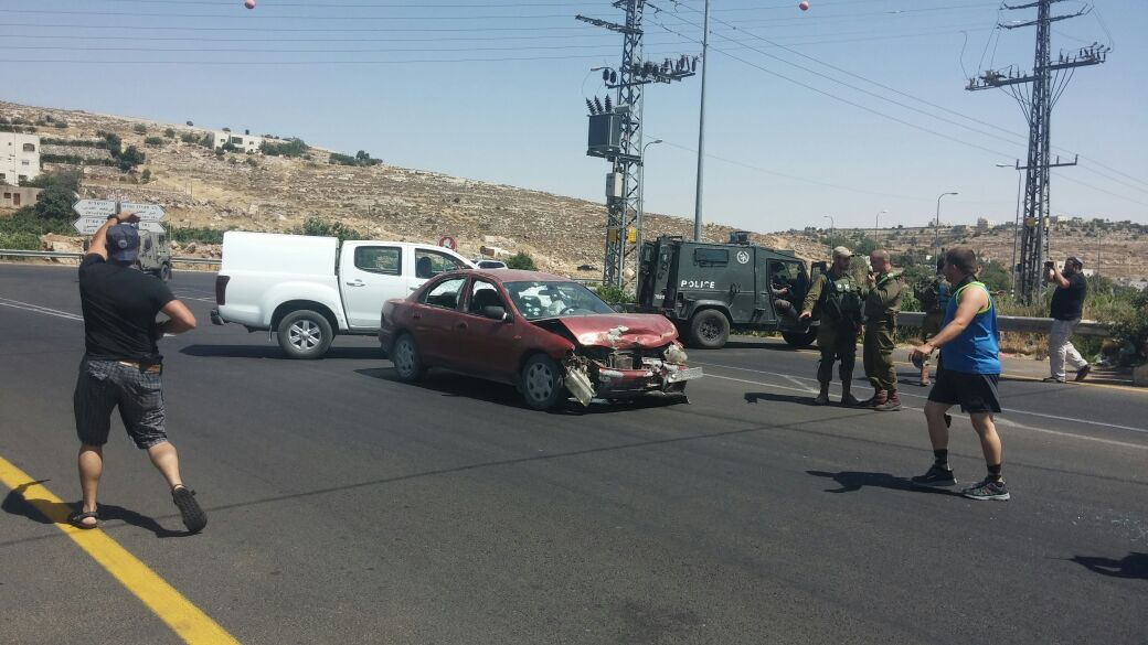 Vehicular Attack in the Kiryat Arba Area [UPDATED 3:20PM IL]