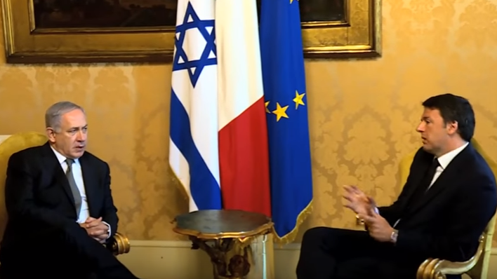 VIDEO: PM Netanyahu Hails Agreements During Rome Media Event
