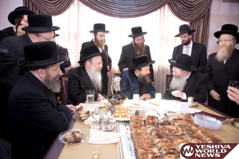 Photo Essay: Bobov-45 Rebbe Visiting Lakewood (Photos by JDN)