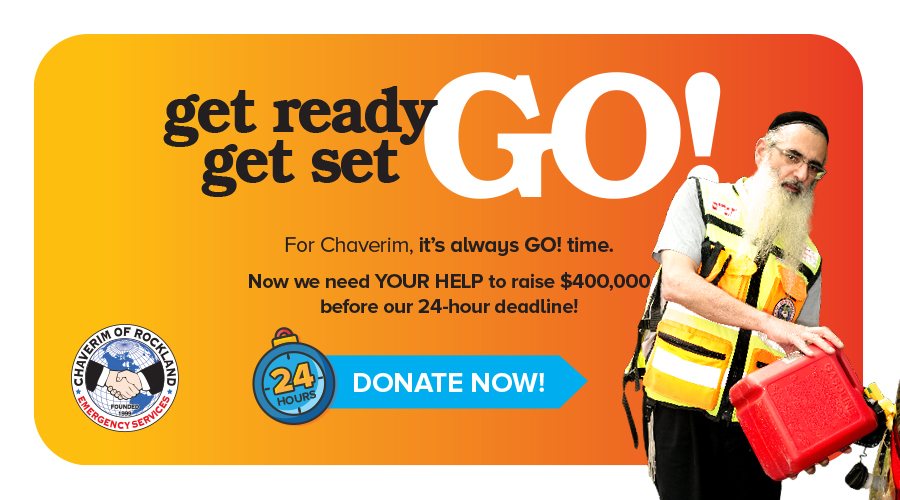 Rockland Residents in State of GO! On Behalf Of Chaveirim