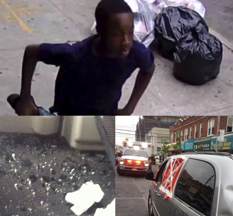 HATE CRIME: NYPD Releases Video Of Suspect In Flatbush Wanted For Making Anti-Semitic Remark And Smashing Car Window