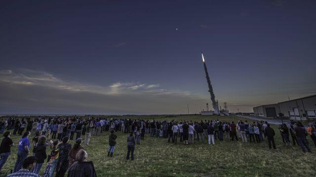 NASA Launches Suborbital Rocket Carrying Student Experiments