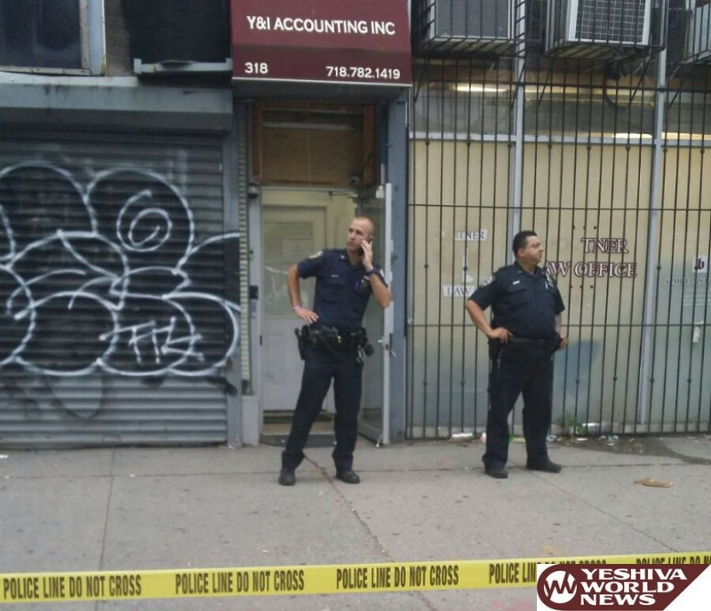 VIDEOS AND PHOTOS: Jewish Accounting Firm In Williamsburg Robbed At Gun Point; Owner Pistol-Whipped; Secretary Tied Up