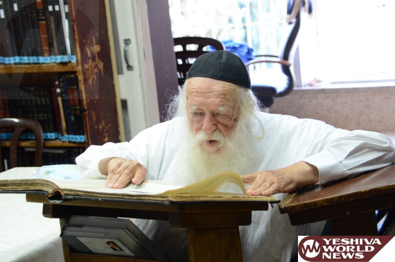 Rav Kanievsky: L'chatchila, One Shouldn't Work For The Israel Tax Authority To Report On Others