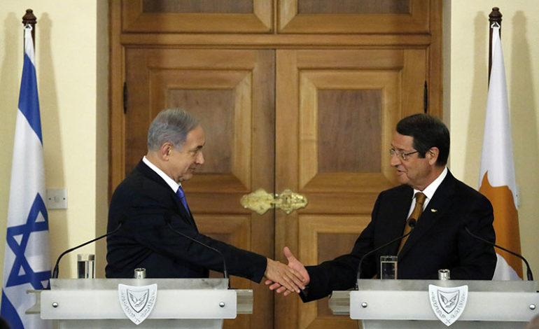PM Netanyahu Meets With Cyprus President Nicos Anastasiades