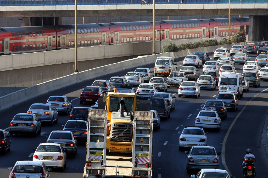 Israel Has The Most Crowded Roads Among OECD Nations