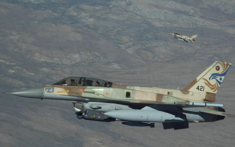 Israeli Warplanes Hit Syrian Target After Mortar Fire