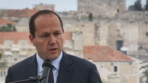 Jerusalem Mayor Barkat And Minister Bennett: Permit Building in All Areas of the Capital