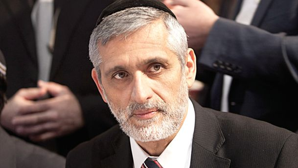 Eli Yishai Arrives In Court In A Showing Of Support For Sgt. Elor Azariya