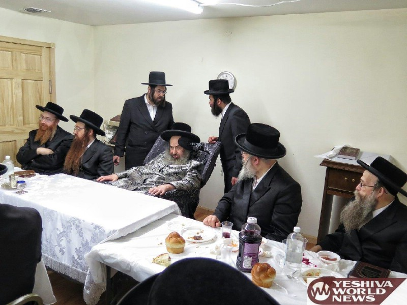 Photo Essay: Kaliv Rebbe At A Yartzeit Tish In Monsey (Photos by JDN)