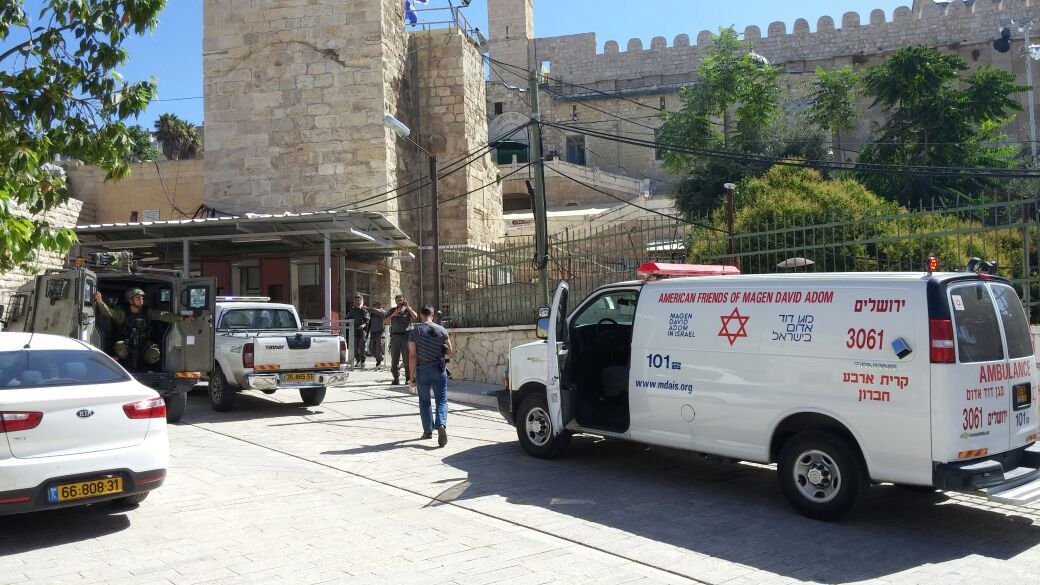 No Injuries in Attempted Stabbing Attack in the Machpelah
